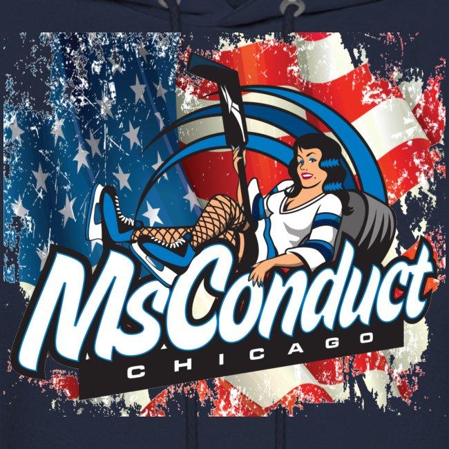 USA Pride w/MsConduct Hockey Sweatshirt