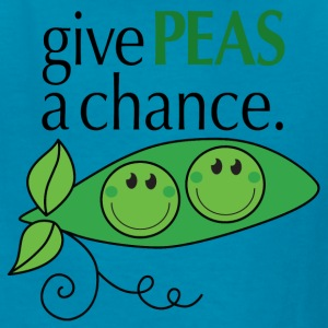 give PEAS a chance. Kids' Shirts - Kids' T-Shirt