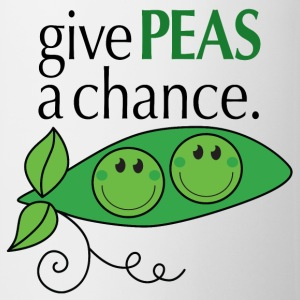give PEAS a chance. Gift - Coffee/Tea Mug