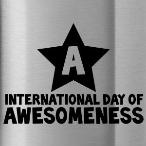 international day of awesomeness AWESOME! Accessories - Water Bottle