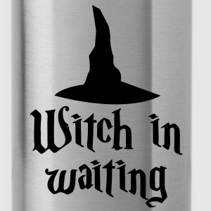 witch in waiting with witches' hat creepy! Accessories - Water Bottle
