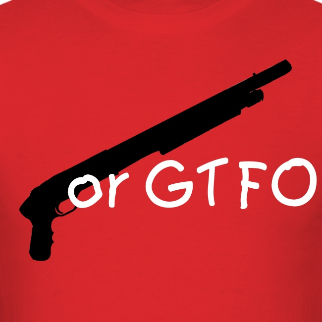 Shotgun or GTFO red