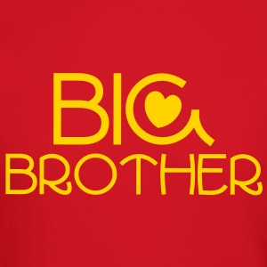big brother in a beautiful brotherly Blue Long Sleeve Shirts - Crewneck Sweatshirt