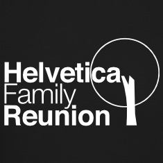 helvetica family reunion Long Sleeve Shirts