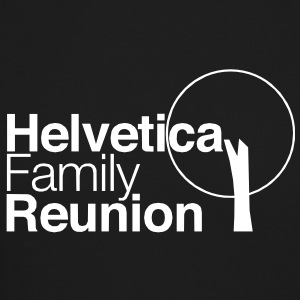 helvetica family reunion Long Sleeve Shirts - Crewneck Sweatshirt
