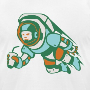 Astronaut T-Shirt - Men's T-Shirt by American Apparel