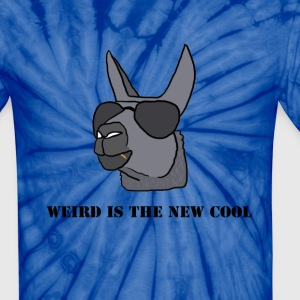 Weird is the New Cool Tie Dye Shirt - Unisex Tie Dye T-Shirt