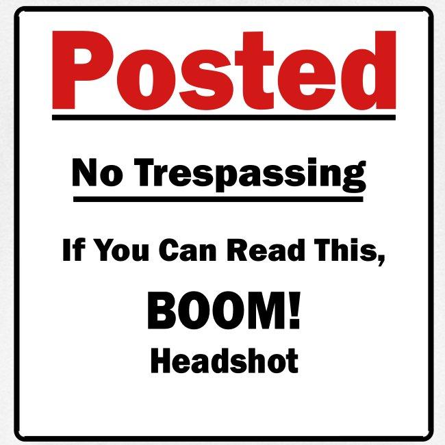 Boom! Headshot (on back)