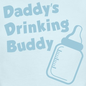 Daddy's Drinking Buddy - Short Sleeve Baby Bodysuit