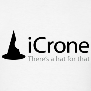 iCrone - There's a Hat for That - iSpoof T-Shirts - Men's T-Shirt