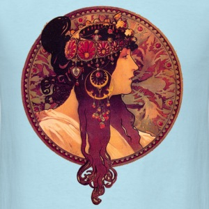Alphonse Mucha - Donna Orechini - Men's T-Shirt