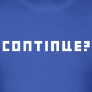 Design ~ Continue Logo White
