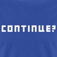 Design ~ Continue Logo White