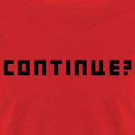 Design ~ Continue Logo Black