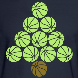 Basketball Tree  Long Sleeve Shirts - Men's Long Sleeve T-Shirt