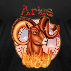 Aries T-Shirts - Men's T-Shirt by American Apparel