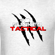 Design ~ Funker Tactical Claw Marks t-shirt