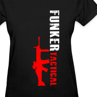 Design ~ woman's funker tactical scar t-shirt