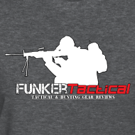Design ~ woman's Funker Tactical Full Logo t-shirt