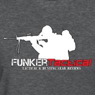 Design ~ woman's Funker Tactical Full Logo t-shirt