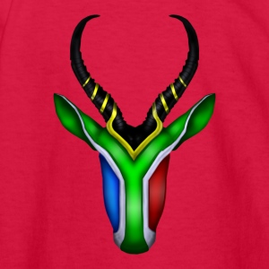 Springbok Flag - Kids' Long Sleeve T-Shirt