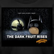 Design ~ Annoying Orange Dark Knight Mens AA T-shirt