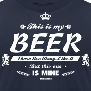 This is my beer T-Shirts - Men's T-Shirt by American Apparel