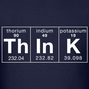 Think Periodically - Men's T-Shirt