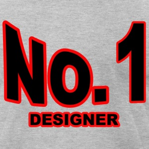 N0. 1 Designer - Men's T-Shirt by American Apparel
