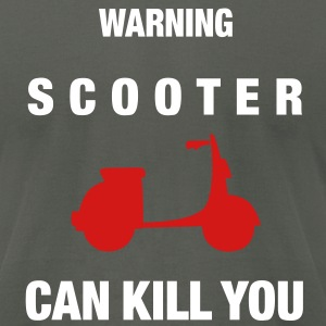 can_kill_you_scooter_vec_2 us - Men's T-Shirt by American Apparel