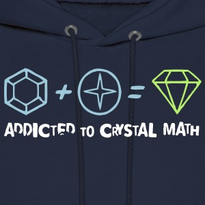 Addicted to Crystal Math Hoodies - Men's Hoodie