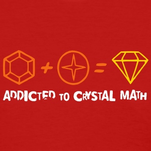 Addicted to Crystal Math Women's T-Shirts - Women's T-Shirt