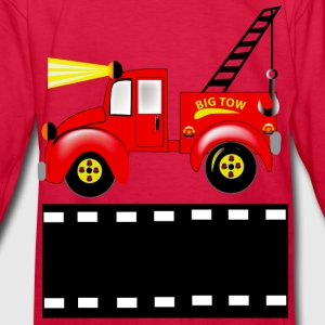 Tow Truck - Kids' Long Sleeve T-Shirt