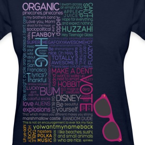 Multicolor Typography  Women's T-Shirts - Women's T-Shirt