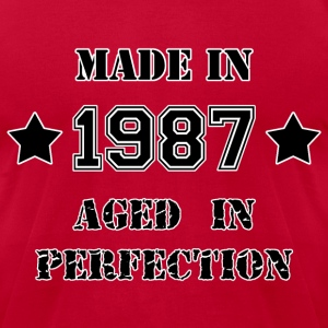 Made in 1987 T-Shirts - Men's T-Shirt by American Apparel