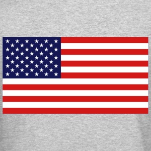 American Flag Design Long Sleeve Shirts - Crewneck Sweatshirt