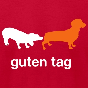 Guten Tag T-Shirts - Men's T-Shirt by American Apparel