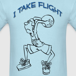 I take Flight - Men's T-Shirt