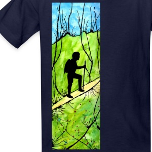 Hiking Kids' Shirts - Kids' T-Shirt
