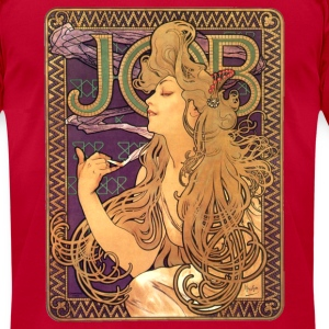 Alphonse Mucha – Job Cigarettes - Men's T-Shirt by American Apparel