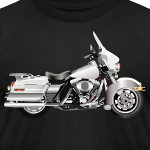 Motorcycle - Men's T-Shirt by American Apparel