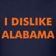Design ~ I DISLIKE ALABAMA - Blue