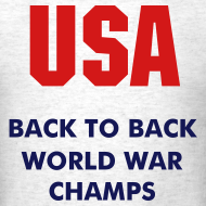 Design ~ USA Back to Back World War Champs