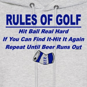 Rules Of Golf - Men's Hoodie