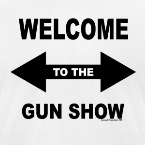 Gun Show - Men's T-Shirt by American Apparel