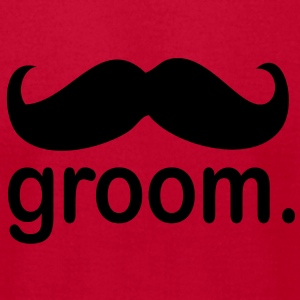 Groom. - Men's T-Shirt by American Apparel