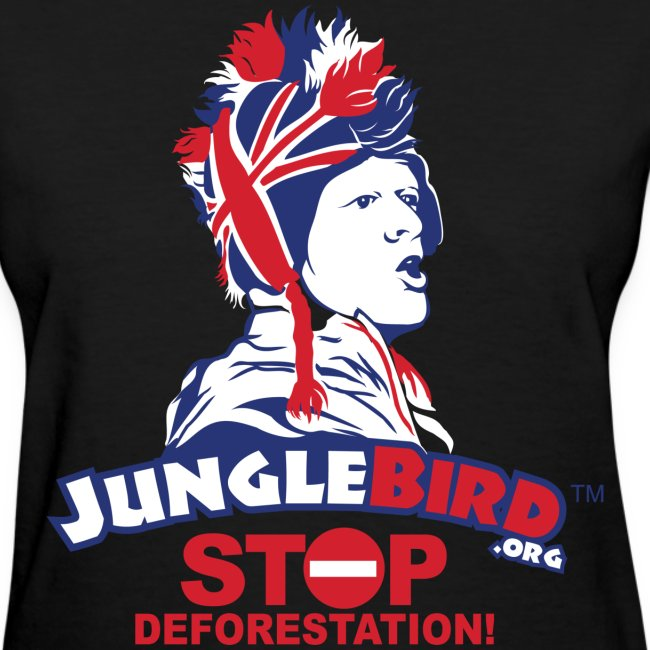 Jungle Bird Stop Deforestation