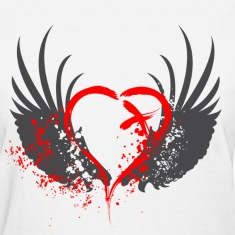 Blood Wings Women's T-Shirts