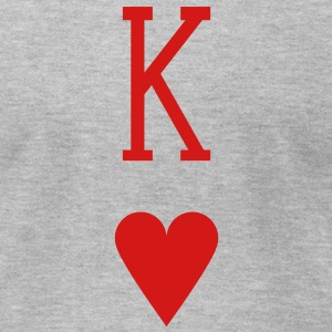 King of Hearts T-Shirts - Men's T-Shirt by American Apparel