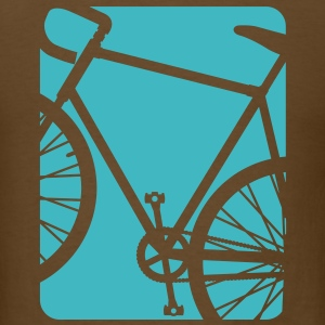 Spokes and Ink Bicycle Design - Men's T-Shirt